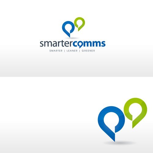 Logo to position Smartercomms  as thought leaders