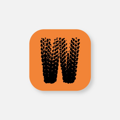App icon design for off road company