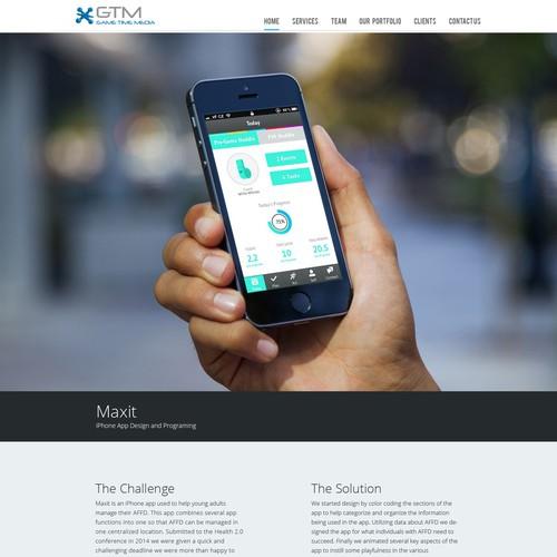 Designer App Website