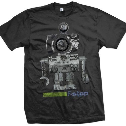 Fresh T-Shirt Design for Adventure Photography Gear Manufacturer