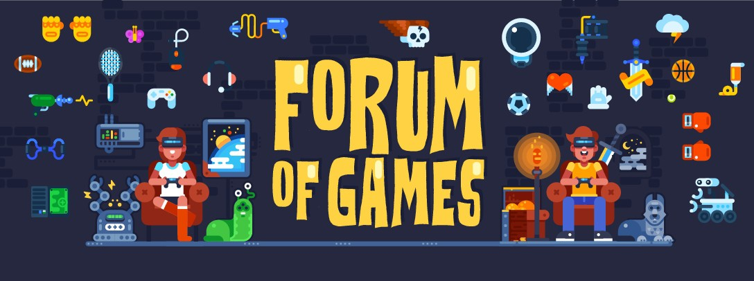New Video Game Forum Needs a Header