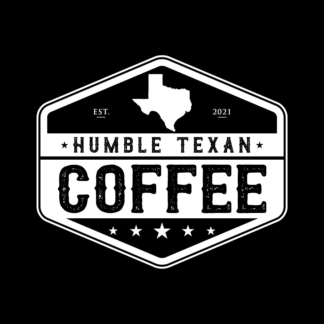 Humble Texan Coffee Logo Alternative Shape