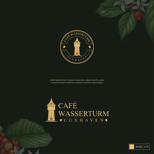 Noble and Elegant Logo for Cafe
