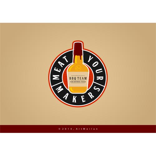 Create a Cool Logo/Emblem for Firm BBQ Team