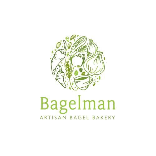 Bagelman logo