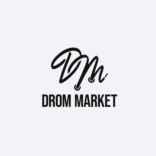 Concours Logo Drom Market - Vente de sneakers en ligne.