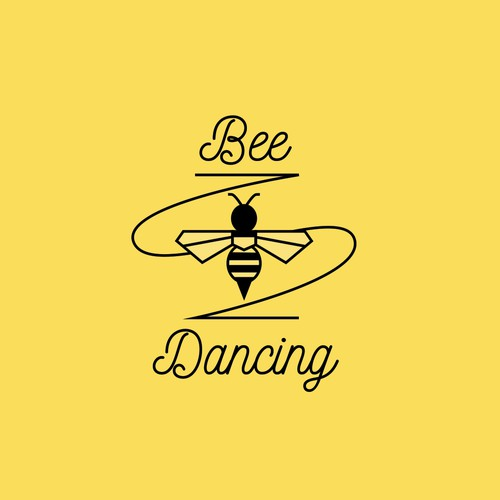 Cheerful logo for dancing company