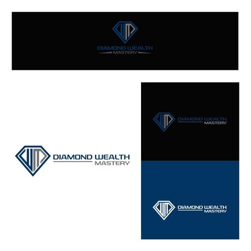 Logo Concept For Diamod Wealth Mastery