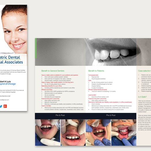 Trifold for Paediatric Dental Surgery