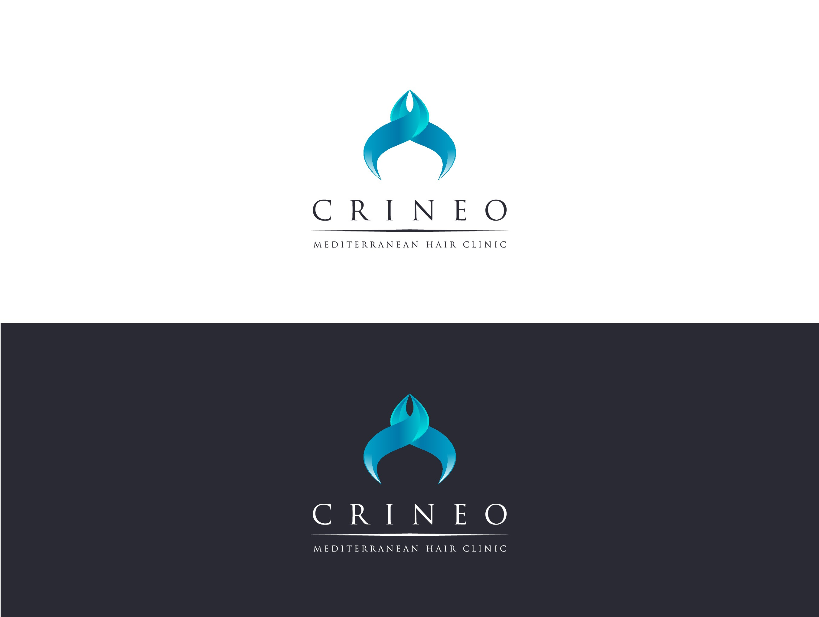 Create a Modern & Innovative Logo about New French Medical Hair Clinic CRINEO
