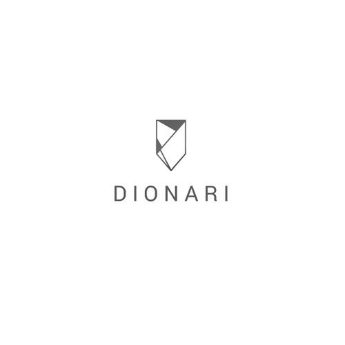 Dionari - logo for glassware and home decor products