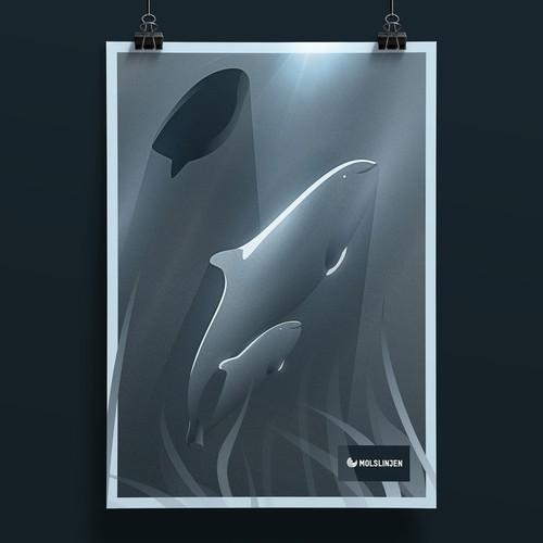 The Harbor Porpoise Poster
