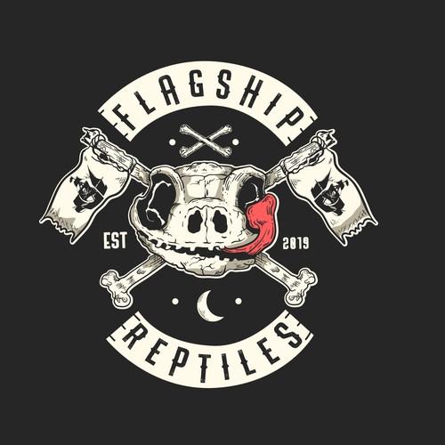 Badass Reptiles Shop Logo