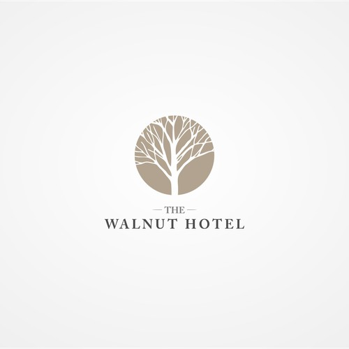 logo brand concept for iconic hotel