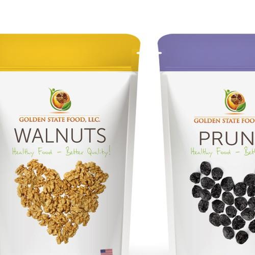 Package design for nuts