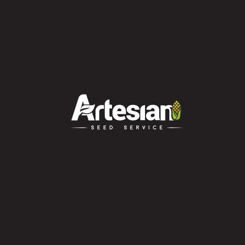 Inovative logo for seed sales business.