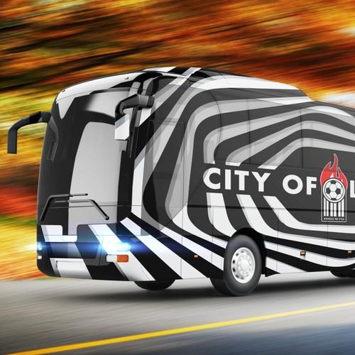 City of Lusaka/Bolabet Bus Branding