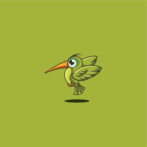 create an attention grabbing hummingbird avatar