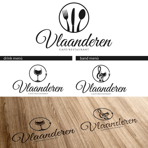 Create the winning logo for café/restaurant 'Vlaanderen'!