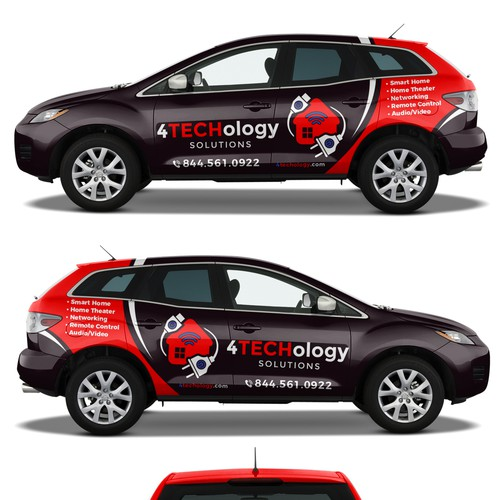 Mazda CX-7 wrap