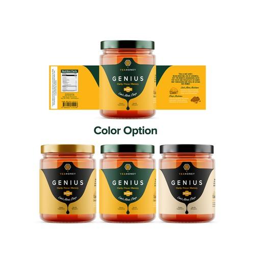 Genius Honey Label