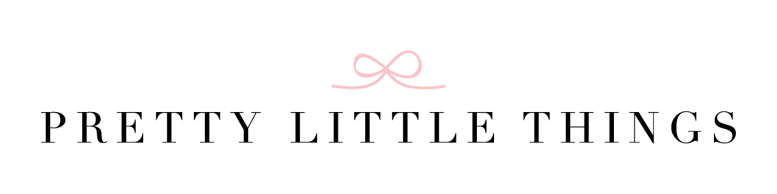Logo for women's clothing boutique, Pretty Little Things