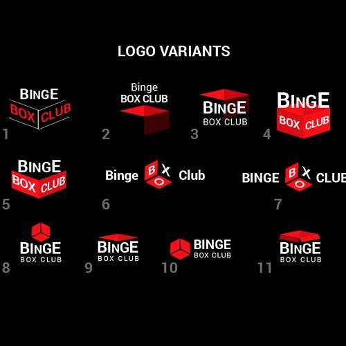Logo for Binge Box