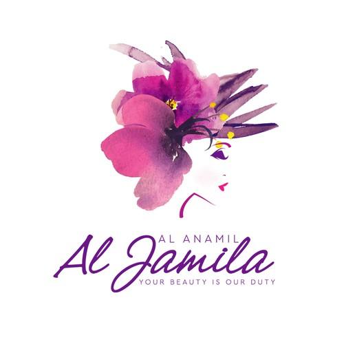 Al Anamil Al Jamila logo design