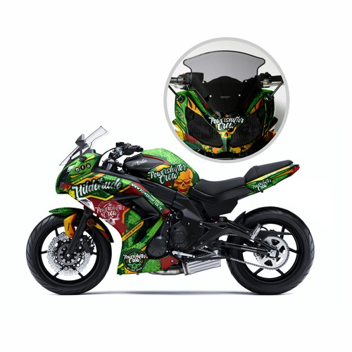 Epic Motorbike Design STANDING OUT