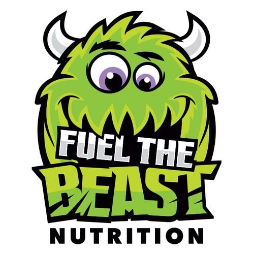 Bold, fun logo concept for food blog