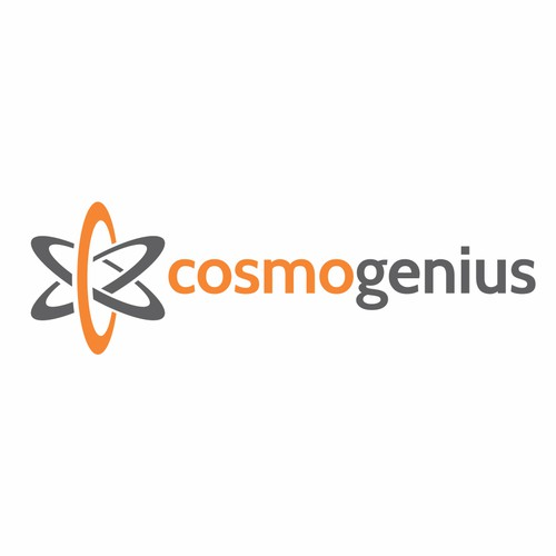 Create a clean, modern logo for a new start-up Cosmo Genius
