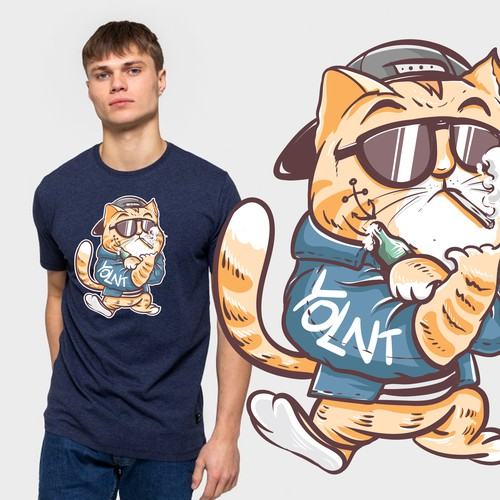 bad cat t shirt