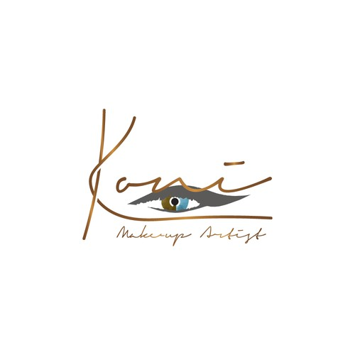 logo for make-up artist