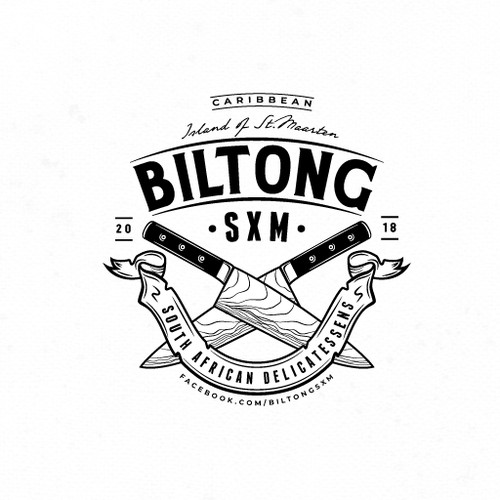 Vintage-inspired logo for South African delicatessens company
