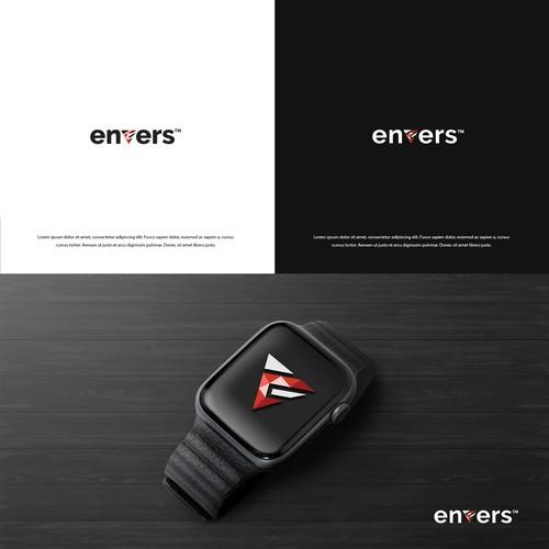 Envers concept logo