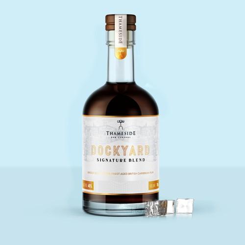 Rum Label Design