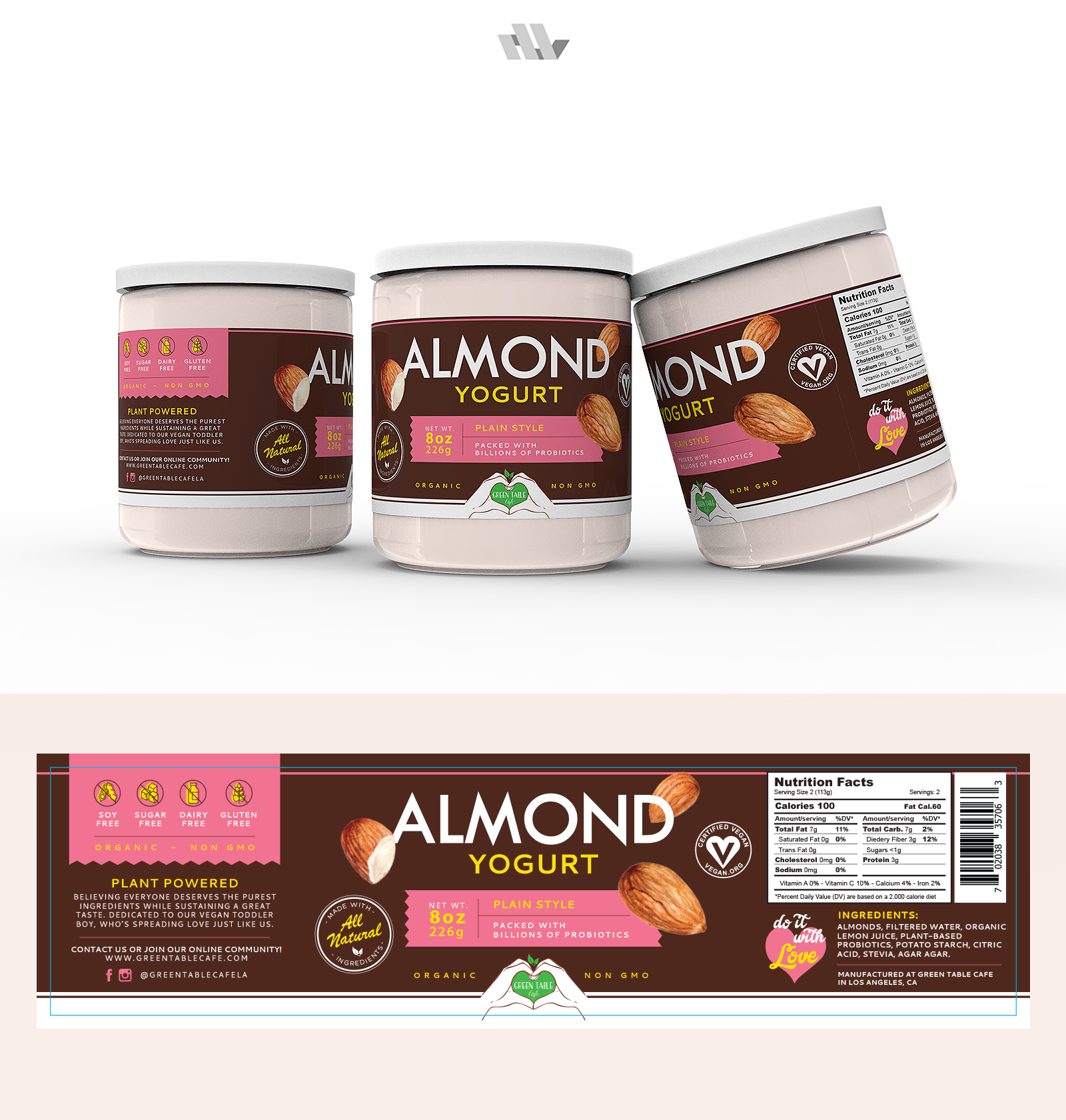 Labels for a food product line