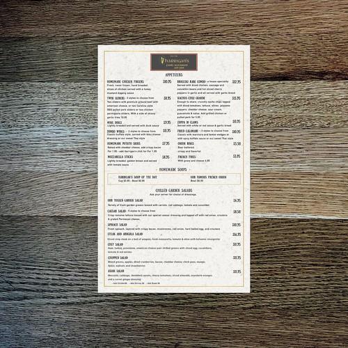 Casual Design Concept for Restaurant/Pub