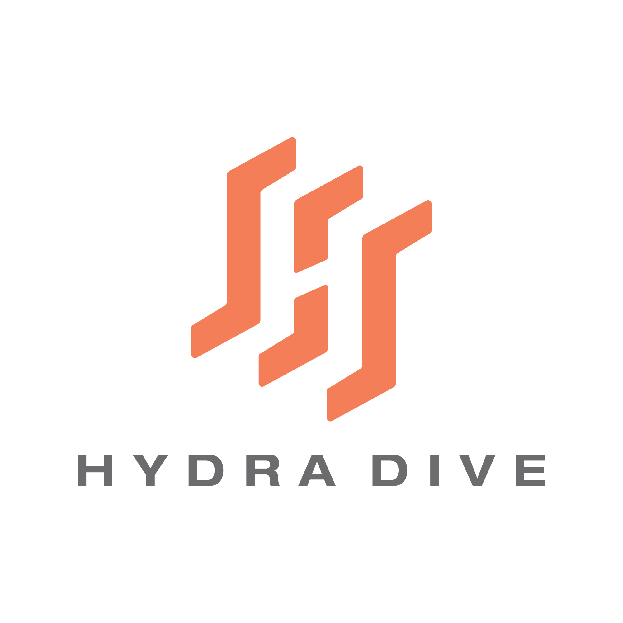 Design a solid and trustable company logo for a new diving gear manufacturer