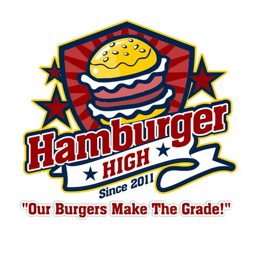 Hamburger High needs a new Logo Design