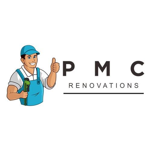 desain logo for PMC RENOVATIONS