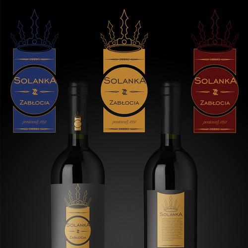 """Solanka"" - brine logo design"