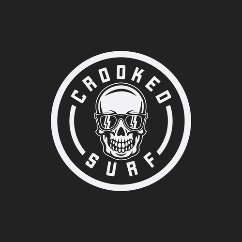 CROOKED SURF LOGO