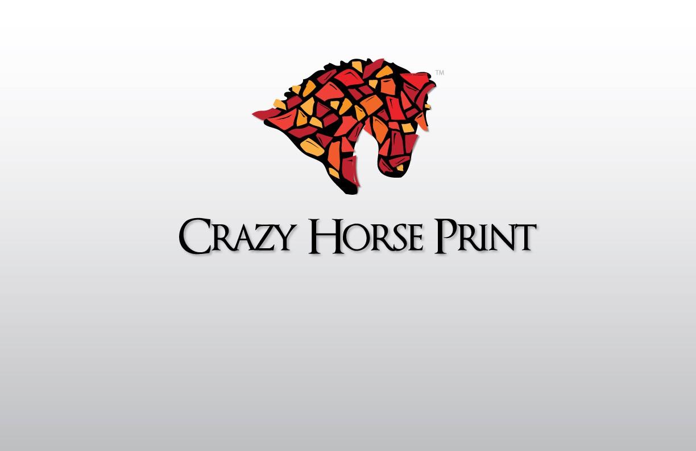 Create the next logo for Crazy horse print