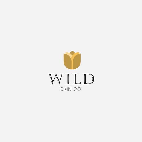 Design a fresh but luxurious logo for Wild Skin Co.