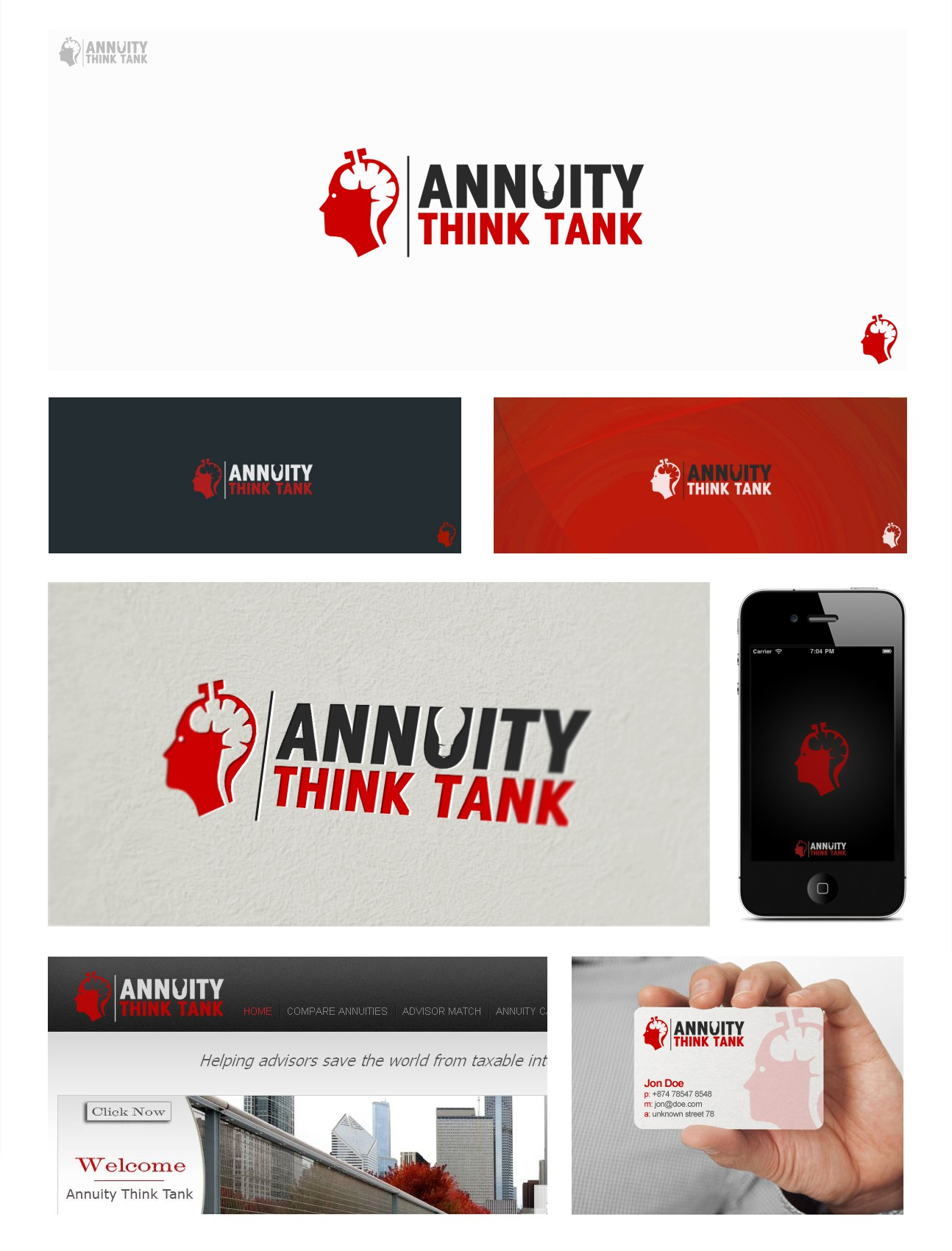 Create the next logo for Annuity Think Tank