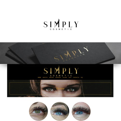 Logo design for Simply Cosmetic