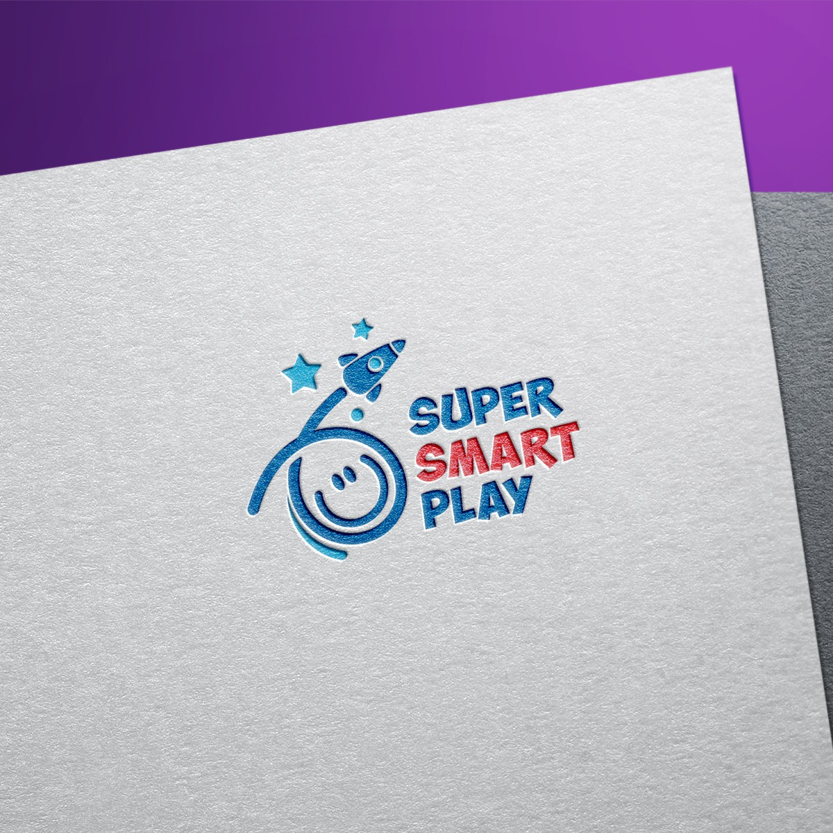 SuperSmartPlay makes crafts & toys for kids - we want a logo to launch us!