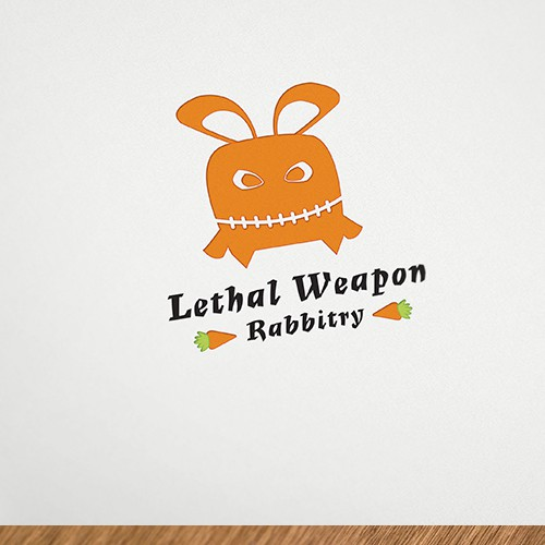 logo for Lethal Weapon Rabbitry