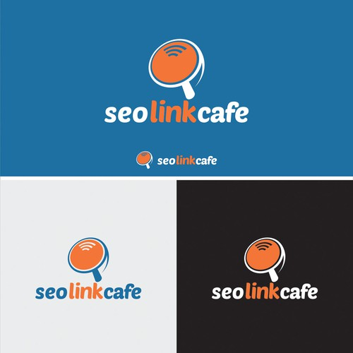 Create a clever negative space logo design for an SEO company
